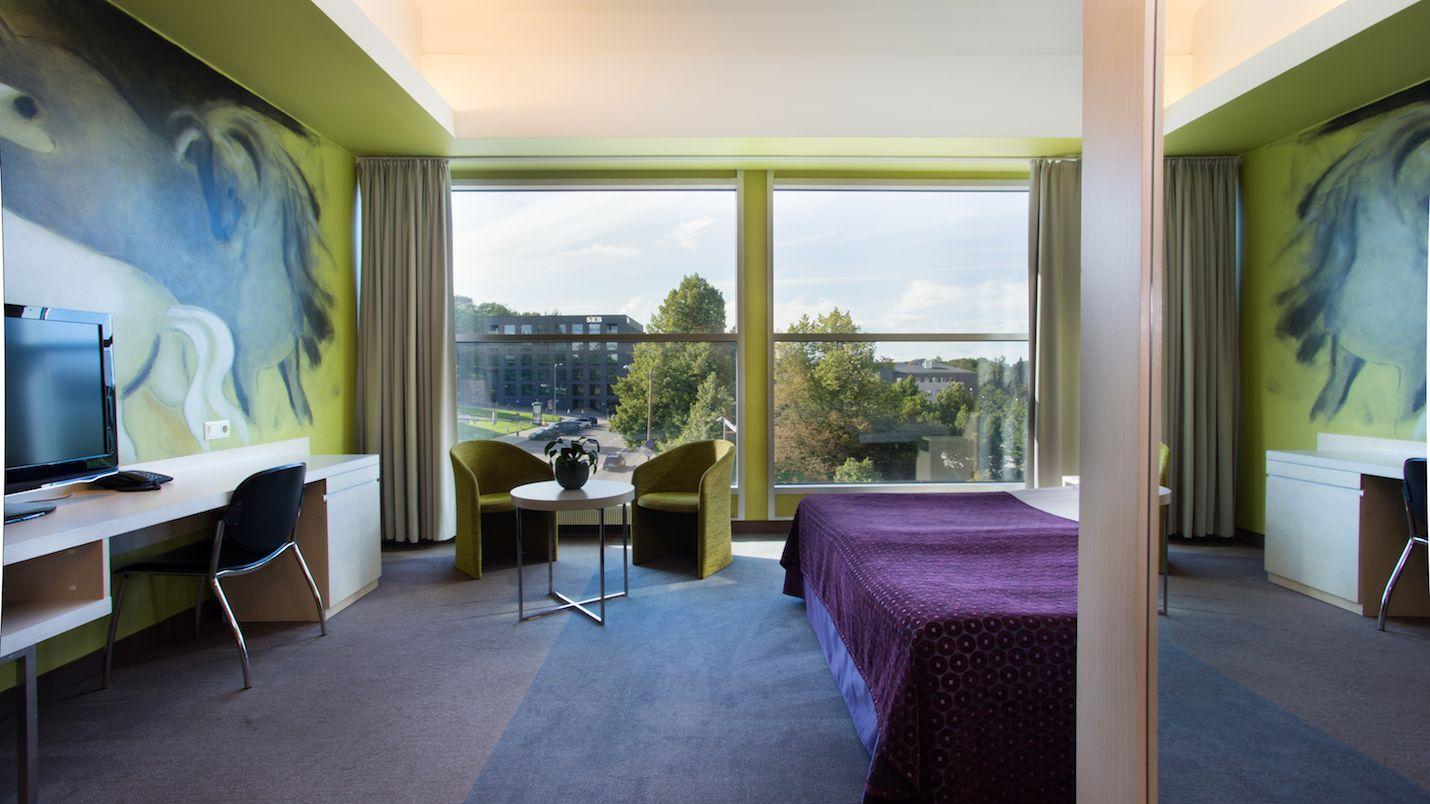 Standard Room Accommodation In Art Hotel Pallas In Tartu