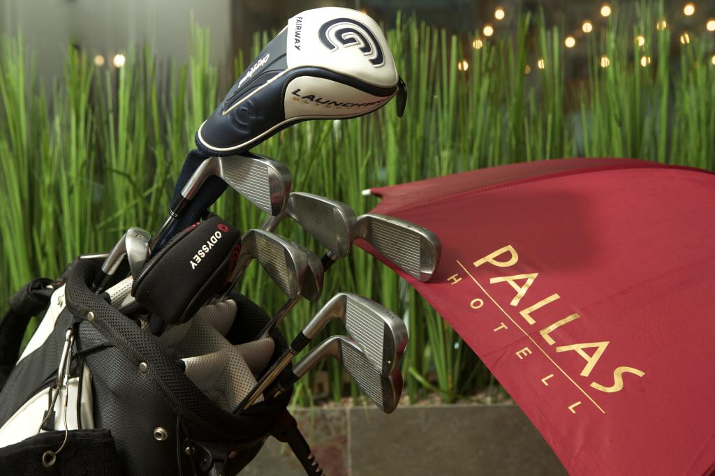 Golfipakett hotellis Pallas